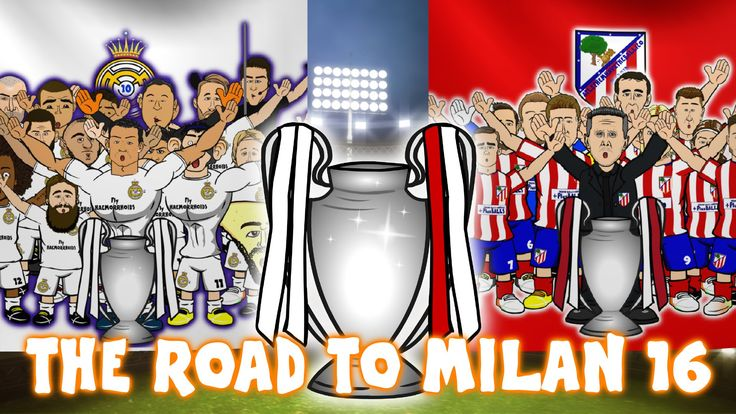 THE ROAD TO MILAN 2016 - Real Madrid vs Atletico Madrid UEFA Champions League Final Preview - http://tickets.fifanz2015.com/the-road-to-milan-2016-real-madrid-vs-atletico-madrid-uefa-champions-league-final-preview/ #UCLFinal