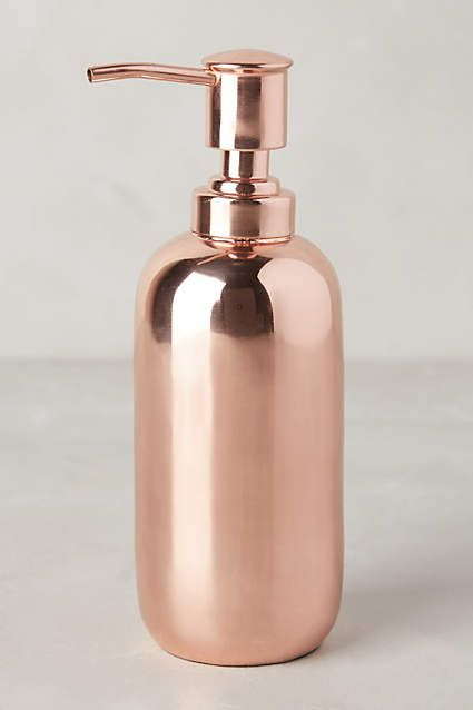 $28 - Copper Gleam Bath Collection - anthropologie.com