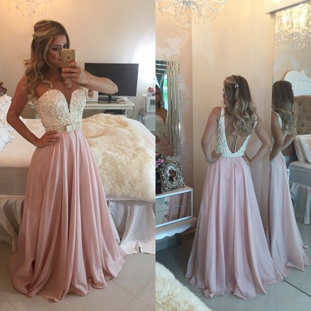 perfection - pink and pearls gown Barbara Melo