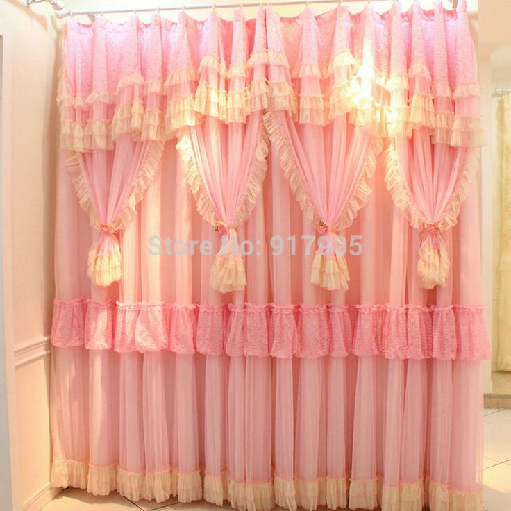 25 melhores ideias sobre cortinas com babados no for Cortinas estampadas
