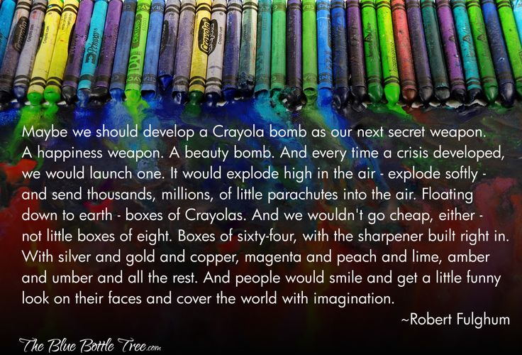 The world needs a Crayola bomb...: Shared, Inspiration, Crayola Bomb, Treasure, Facebook, Random
