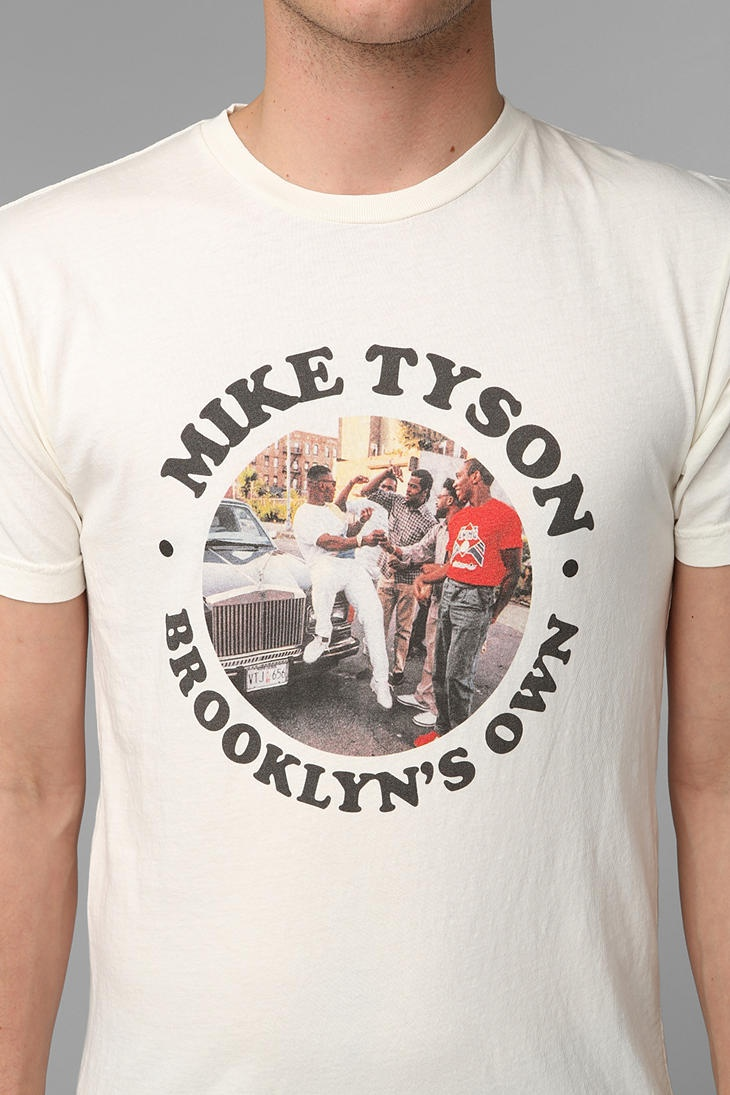 brooklyns own mike tyson tee clothing footwear. Black Bedroom Furniture Sets. Home Design Ideas