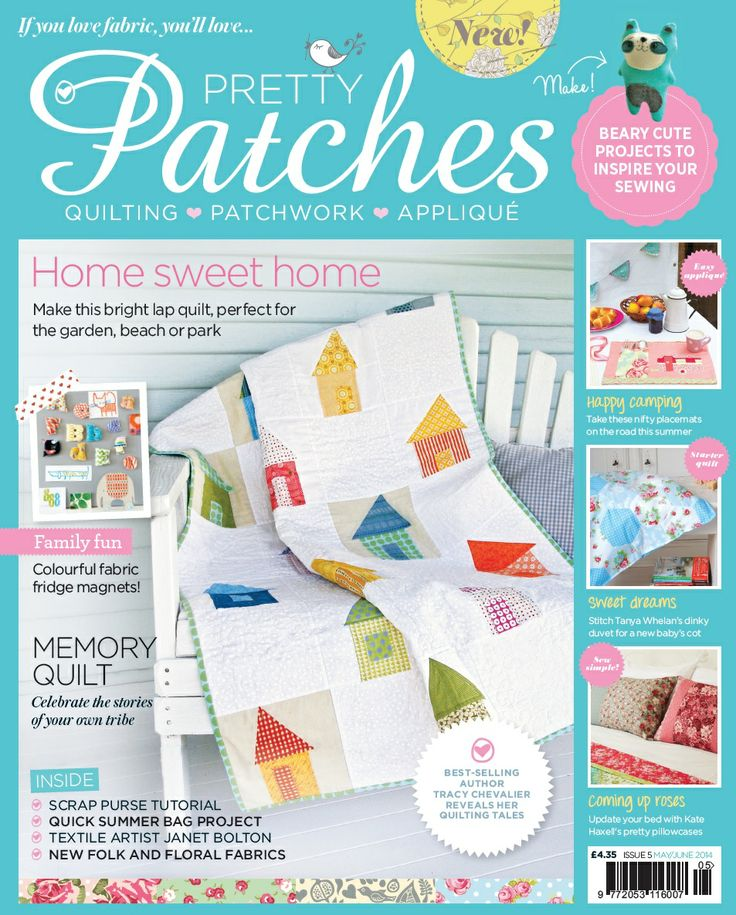 Issue 5 of Pretty Patches Magazine www.prettypatchesmagazine.com