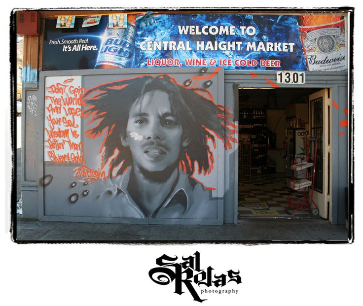 bob marley mural san francisco ca photo by sal rojas