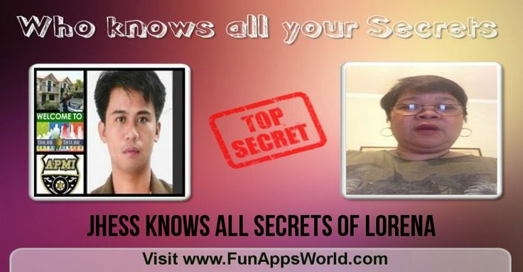 Check my results of Find who knows all your Secrets? Facebook Fun App by clicking Visit Site button