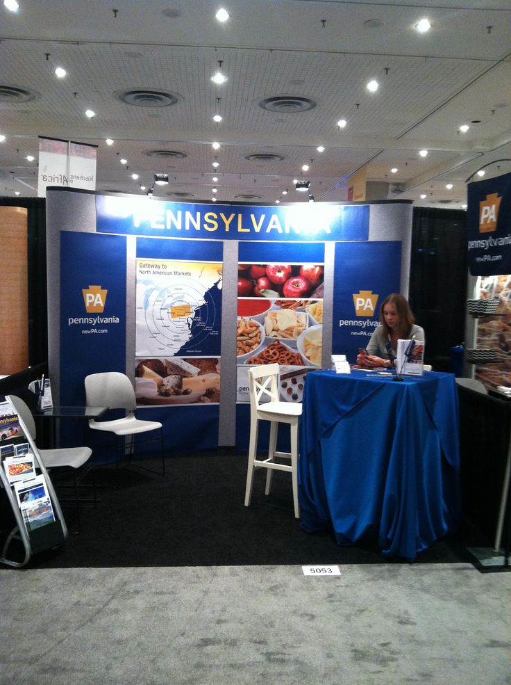 Our Trade Booth At The Summer Fancy Food Show NYC 2015