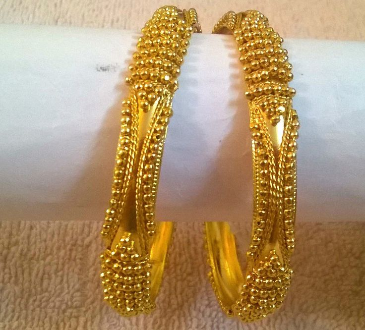 Attractive Gold Plated Designer Bangles