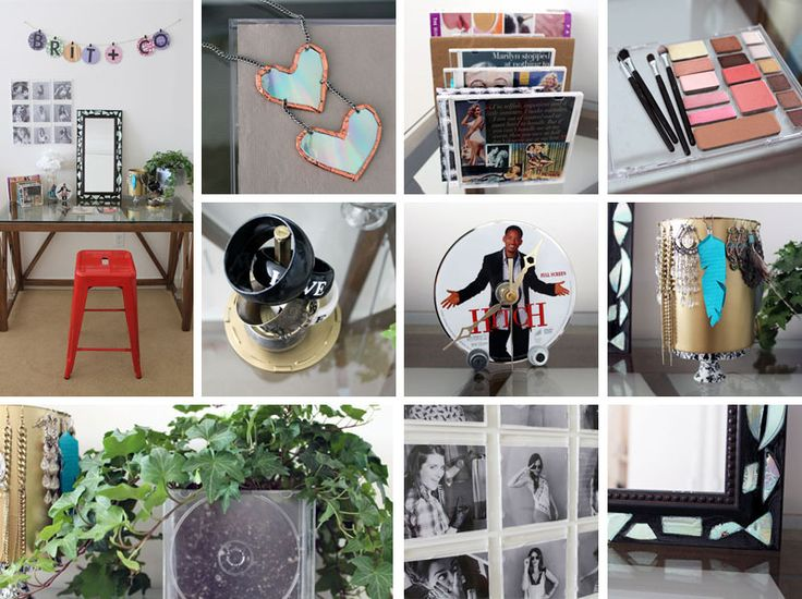 Repurpose your old CDs and CD cases with these 10 DIY tutorials.