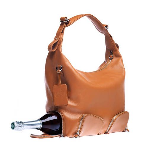 It is so sad/amazing how often I shove bottles of wine into my giant purse so this makes it convenient.... this occurred just yesterday