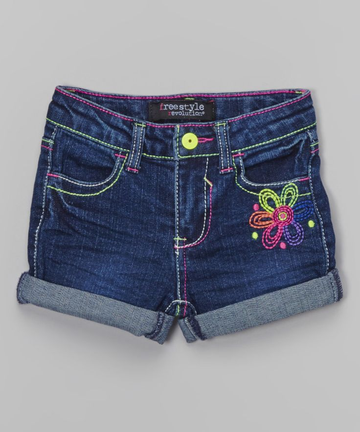 Look at this New York Wash Nickie Shorts - Toddler & Girls on #zulily today!
