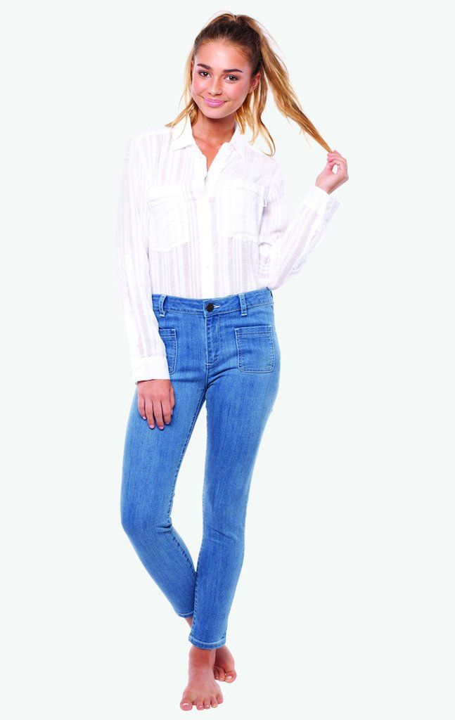 RHYTHM NO.106 JANE JEAN VINTAGE BLUE-Shop for the hottest Designer Clothes, Shoes, Handbags & Accessories at FRENDZ.ca. Find must-have designer apparel & accessories from top brands.