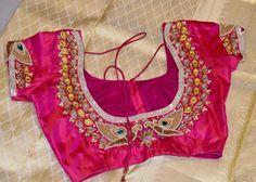 Exclusive Silk Sarees With Designer Blouse | Buy Online Sarees | Elegant Fashion Wear Whitesaree #pinkblouse #saree