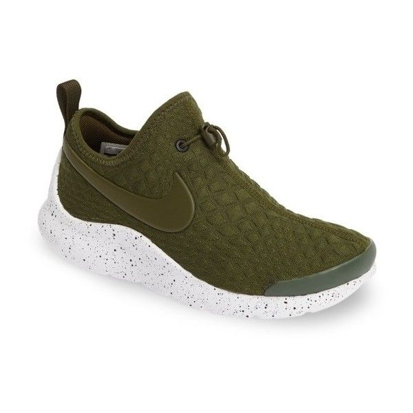 Women's Nike Aptare Sneaker ($67) ❤ liked on Polyvore featuring shoes, sneakers, nike, nike trainers, low profile shoes, nike sneakers and nike footwear