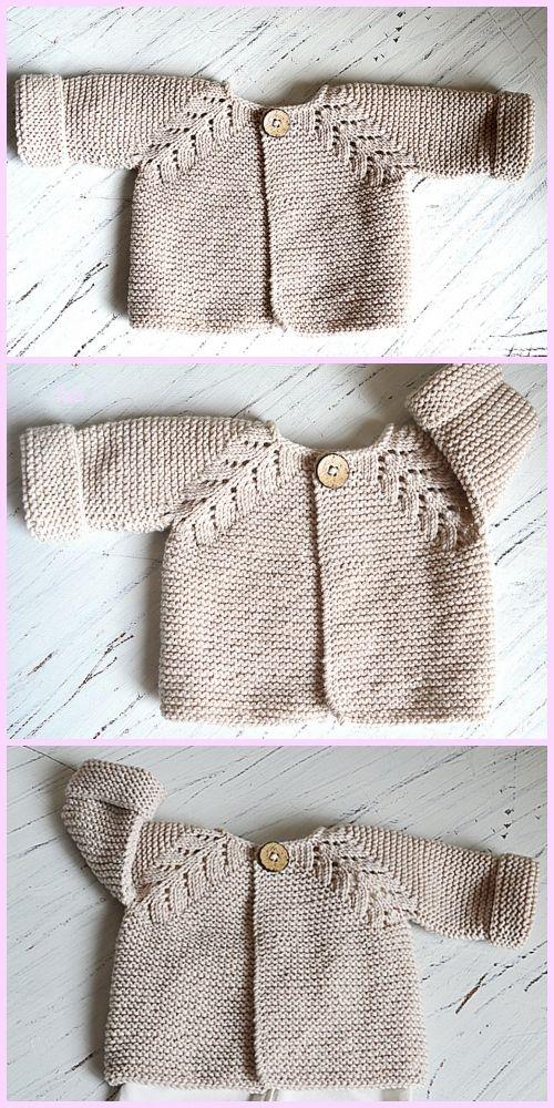 ddf5f30dec51 Fabulous Norwegian Fir Top Down Cardigan Knitting Pattern