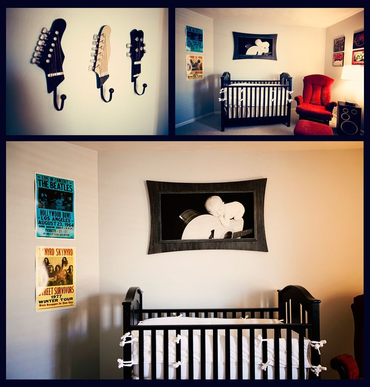 ONE DAY I WILL HAVE THIS!!! {NURSERY} Rock 'n' Roll Theme | Life & Baby | Fun, fabulous & functional things for life and baby