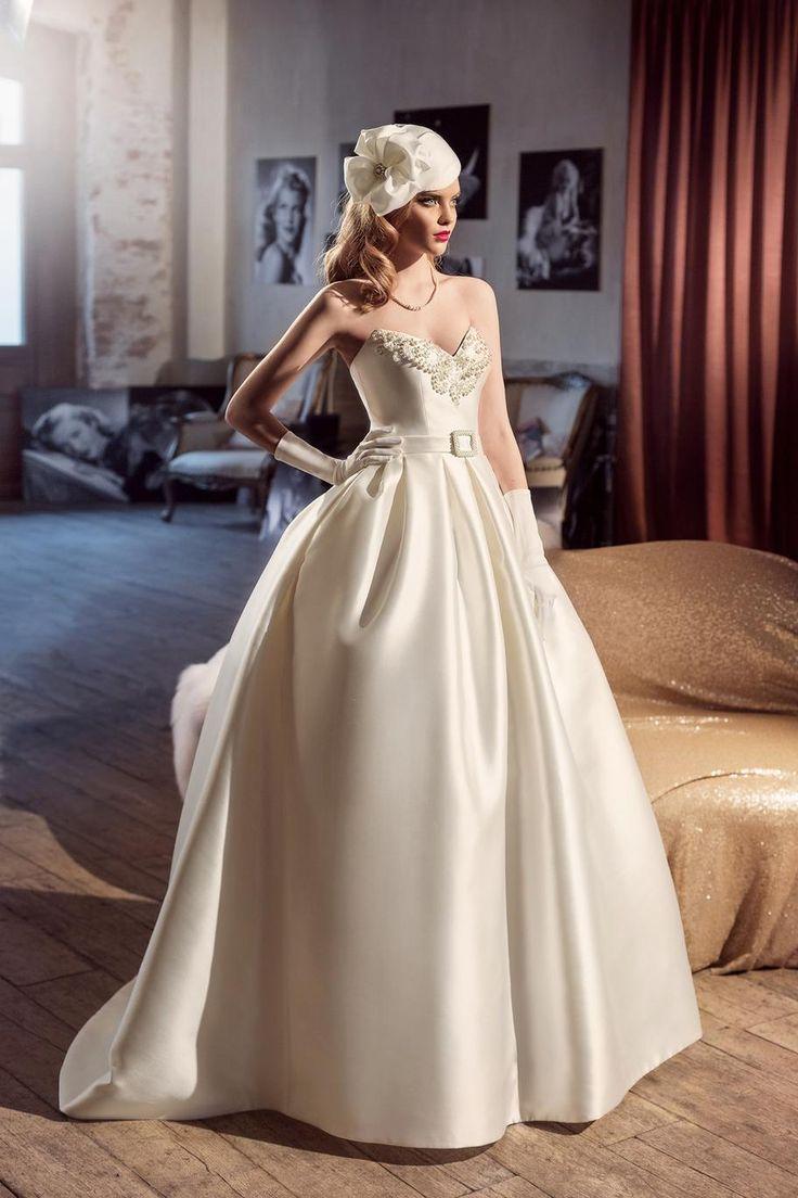 Свадебное платье «Никала» Татьяны Каплун— купить в Москве платье Никала из коллекции «Золотой век 2017»