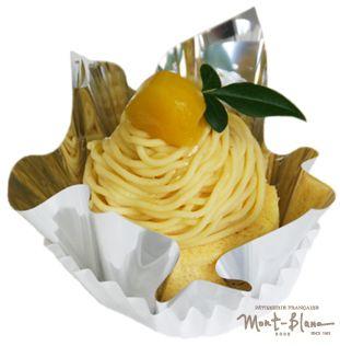黄色いモンブラン