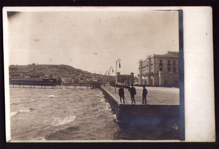 GREECE, FALIRO ATHENS, VINTAGE PHOTO PC 1916