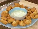 Image Detail for - Caribbean Conch Fritters with Cilantro Tartar Sauce Recipe : Emeril ...
