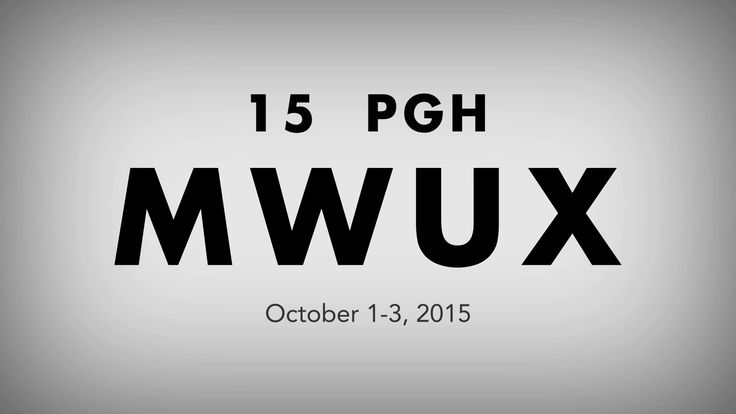 MidWest UX 2015 Promo Vimeo This conference is focused on what's next in UX — Emerging technologies, wearables, Internet of Things (IoT), etc. You…