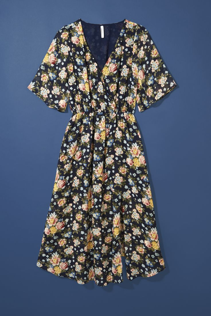 For the more modest dresser: Pepe's ditzy floral print dress oozes old school feminine charm.