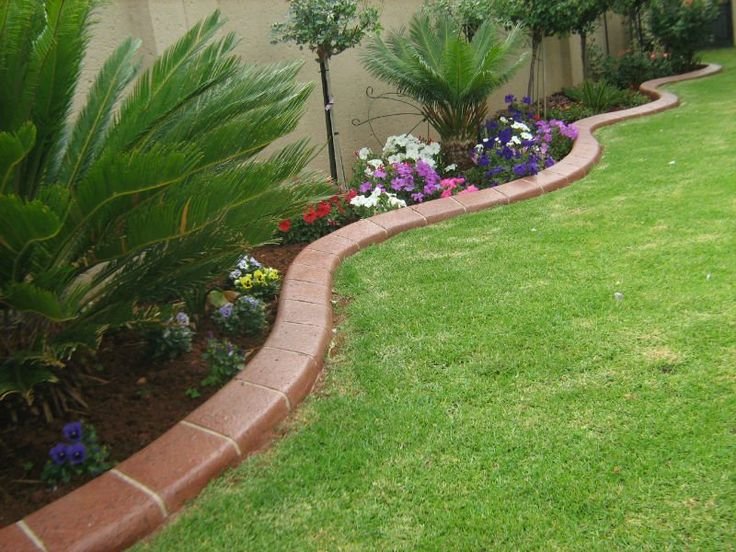 Best Inspiring Gardens Images On Pinterest Garden Edging - Design continuous free form concrete landscape edging by kwik kerb