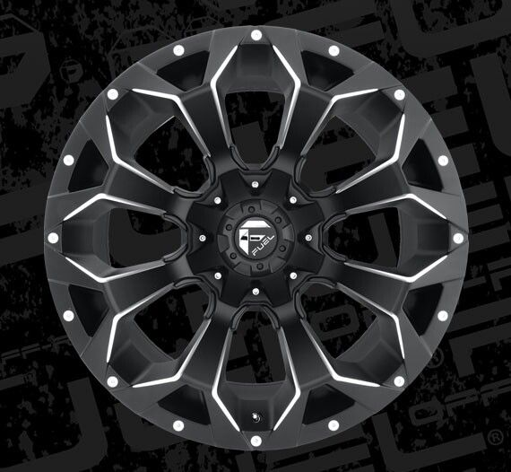 Fuel Assult Rims. Made by Fuel Off-Road