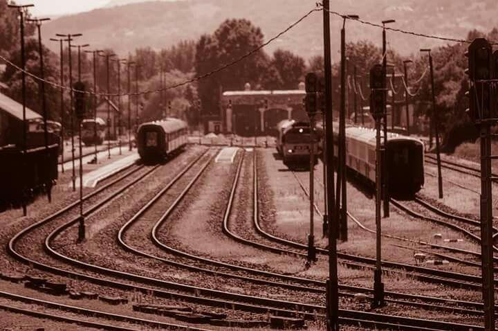 B&W Tapolca train station 2015.08.30