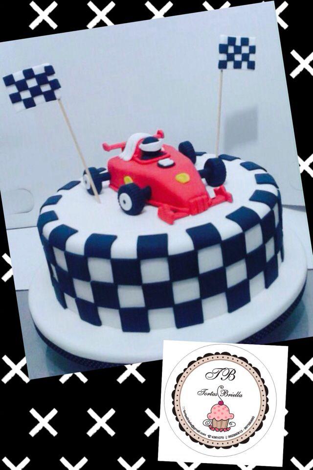 Racing car cake/ torta de auto de carrera