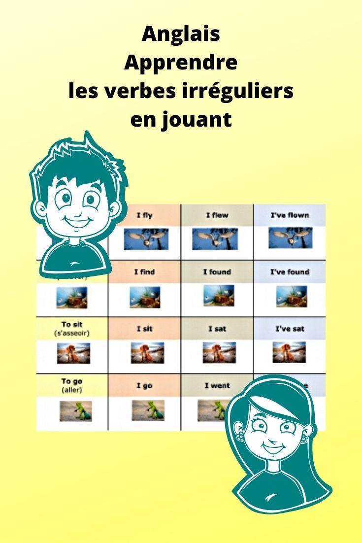 Apprendre Les Verbes Irreguliers Anglais Verbes Irreguliers Anglais Verbes Irreguliers Verbe