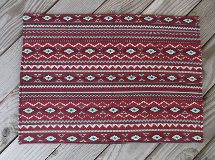 Southwestern fabric placemats, quilted placemats, handmade placemats, table decor, set of 8 by 3Jenerations on Etsy