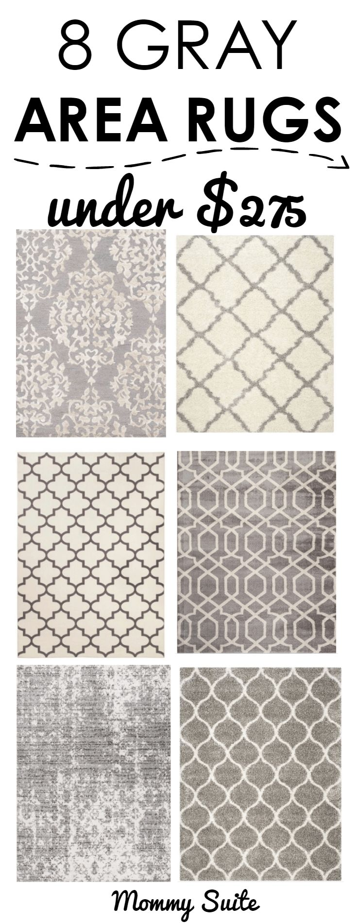 Top 8 Affordable Gray Area Rugs