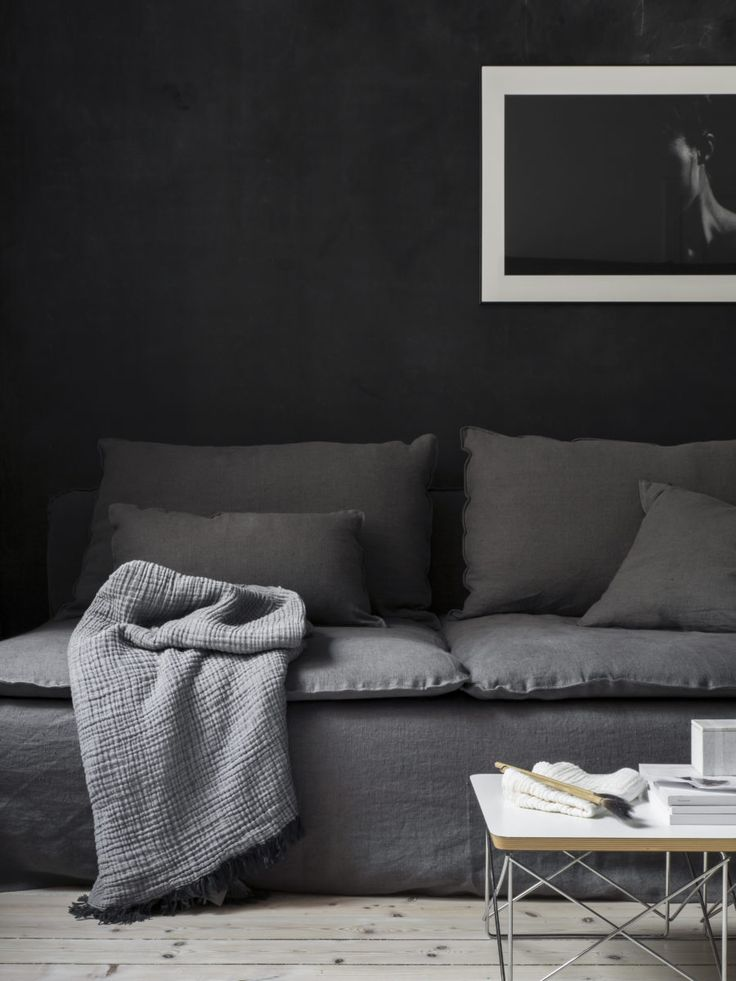 Loose fit Urban Cover, Söderhamn sofa. Styling Pella Hedeby, Photographer Sara Medina Lind