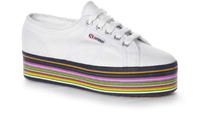 Zapatillas con Plataforma/Platform Sneakers Superga  Shoes Taconless