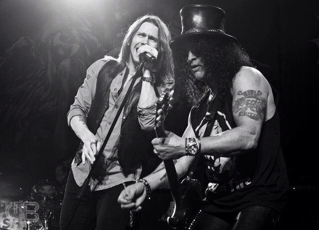 Myles and Slash