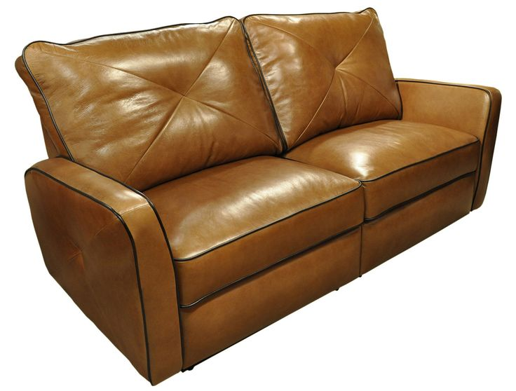 Bahama Leather Reclining Loveseat | Wayfair