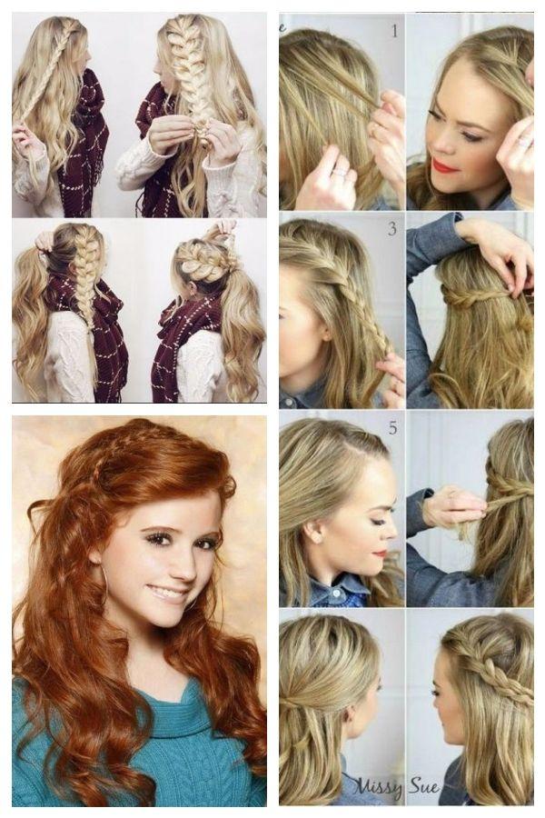 50 Unglaublich Einfache Frisuren Fur Die Schule Einfache Frisuren Schule Un Frisurenfrdieschule Simplehair Hair Styles Easy Hairstyles Womens Hairstyles