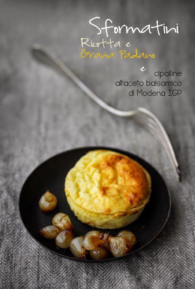- VANIGLIA - storie di cucina: Sformatini ricotta e Grana con cipolline all'aceto balsamico di Modena IGP