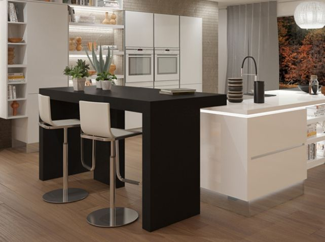 Awesome cuisine ixina blanche with cuisine ixina blanche for Perfect kitchen fabrication