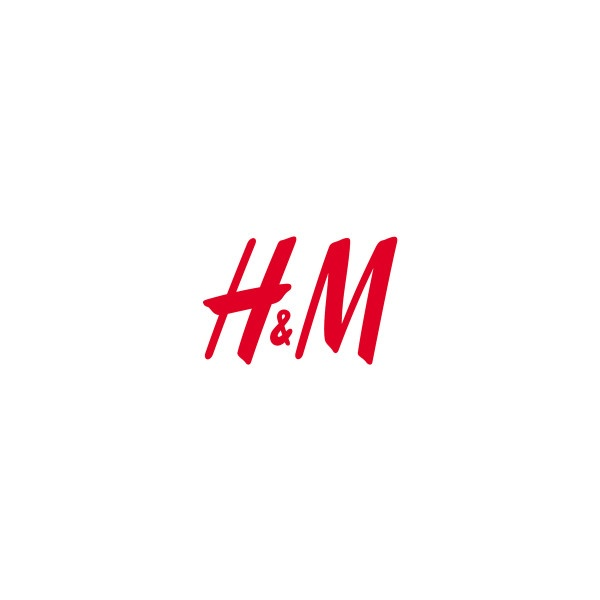 H and M Logo ❤ liked on Polyvore