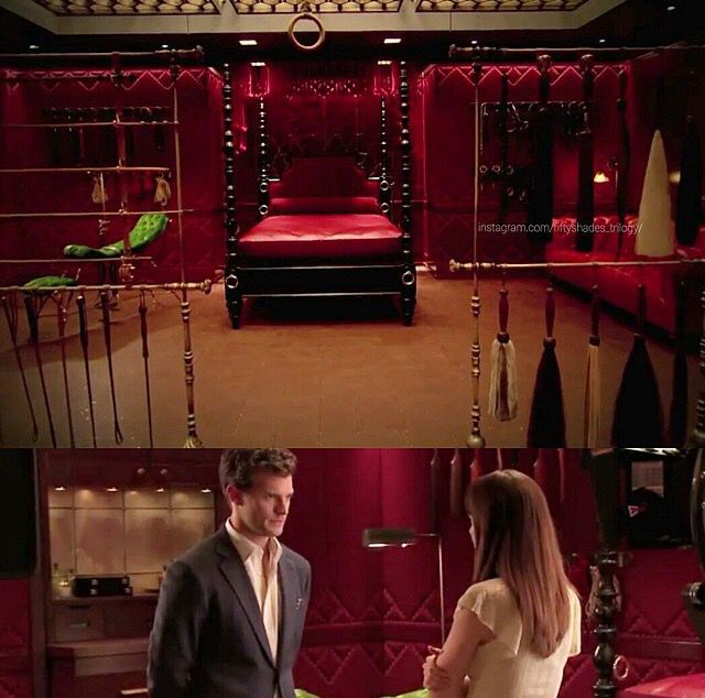Red room of pain... | 50 Shades... | Pinterest | Red rooms ...