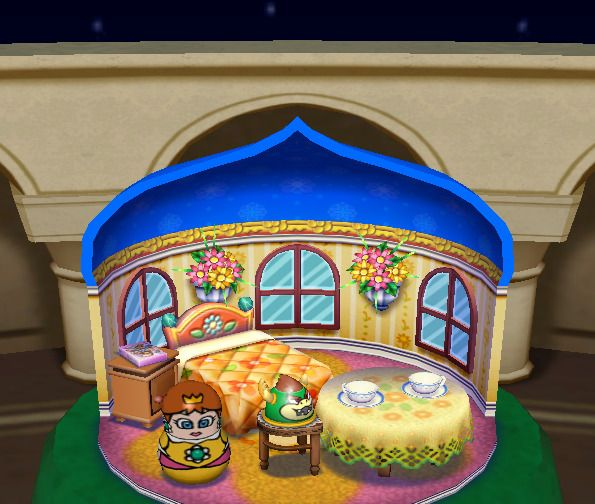 In Mario Party 4, Daisy's present room has a Middle-Eastern