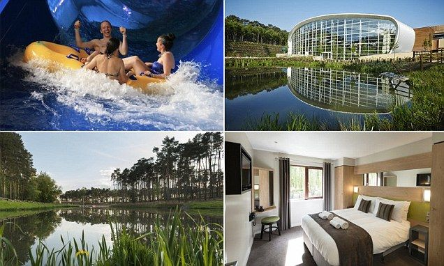 Inside the new £250m Center Parcs in Woburn Forest