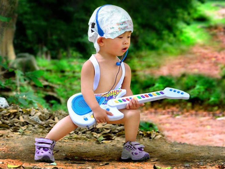 lol: Rocks On, Rocks Stars, Songs Hye-Kyo, Children, Guitar Heroes, Guitar Players, Future Kids, Kids Rocks, Rockstar