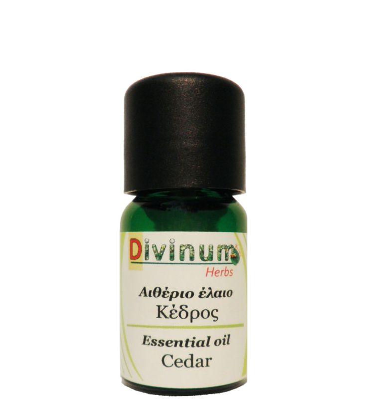 Το αιθέριο έλαιο κέδρου έχει έντονο άρωμα. Είναι κατάλληλο για μασάζ, για θεραπεία κατά της ακμής και της τριχόπτωσης. Διαλύεται σε έλαιο βάσης. Διατίθεται χονδρική.