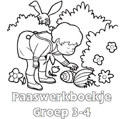 Paaswerkboekje Groep 3-4