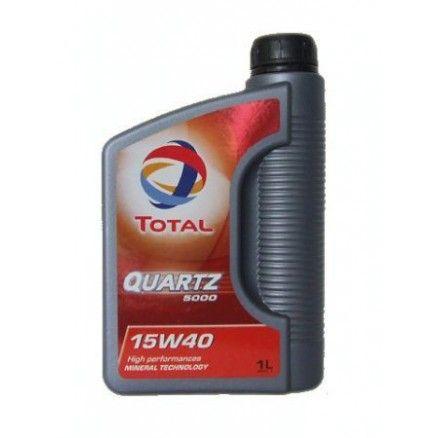 Λιπαντικό Αυτοκινήτου Total Quartz 5000 15W-40 1ltr