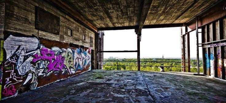 Die ehemalige Abhörstation Teufelsberg als Fotolocation buchen - auf www.eventinc.de