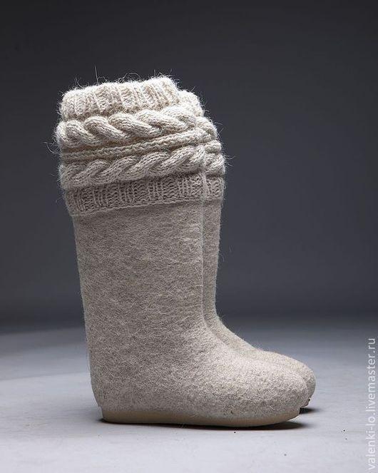 Обувь ручной работы. Valenki