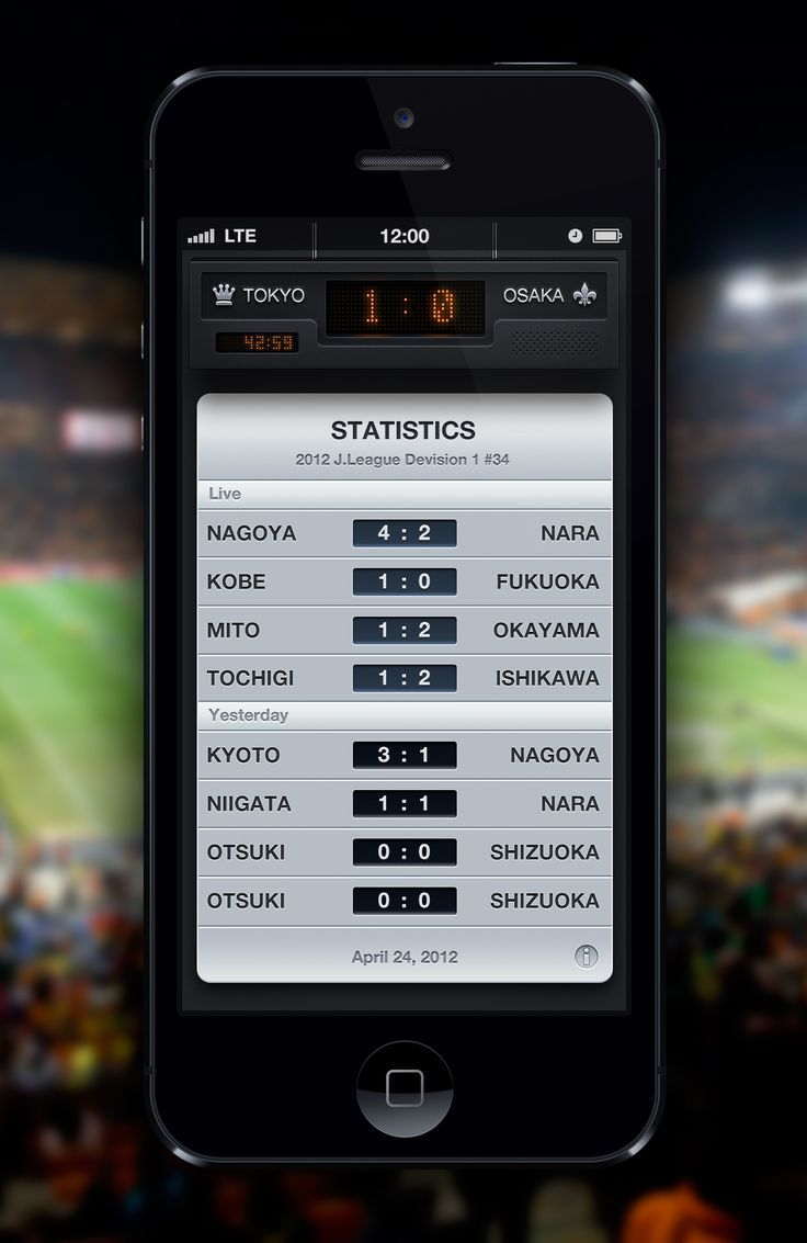 Football broadcasting app  by Takahashi Alex